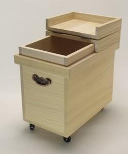 【画像】桐の米櫃(こめびつ)10kg用
